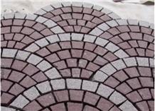 Wholesale Cheap Granite G603& G682 Cobble Stone Pavement