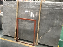 Ancient Grey Khaki Color Marble Slabs,Wall Floor Polished Tiles