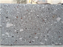 China Grey Porphyry Purple Point Gray Hemp Granite Slabs,Floor Tiles