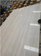 Ginkgo Wood Grain Wooden Beige Marble Slabs,Wall Floor Polished Tiles