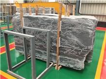 Premium Silver Gray Grey Marble Slabs,Wall Floor Polished Tiles