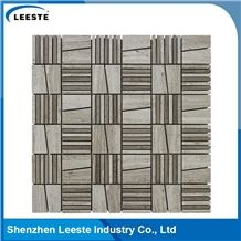 Neoteric Autumn Mix Pattern Hot Sale White Oak Marble Tile