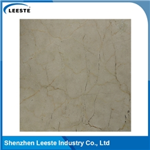 Spanish Crema Marfil Honed Beige Marble Flooring Tiles