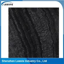 Zebra Black Wooden Marble Wall Tiles