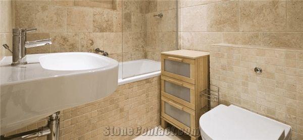 Travertine Bathroom Tiles Wall