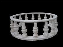Baluster/ Hand Carved/ Railings/ Stone Handrail/ Nature Stone/ Marble