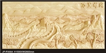 Customized Beige Sandstone Panels Relieves,Sandstone High Relief Carving