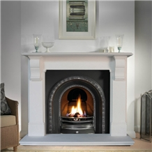 Fangshan White Fireplace Surrounds Factory Direct
