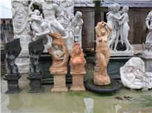 Garden Stone Statues Abstract Sculptures