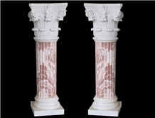 Handcarved Marble Columns Carved Pillars