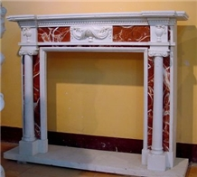 Marble Fireplace Mantel Mantel Fireplace Surround