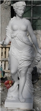 Sichuan White Marble Sculptures, Western Statue
