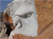 Stone Animal Sculpture,Marble Eagle Statue