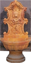Stone Wall Fountains/ Sculptured Garden Fountain