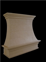 White Marble Carved Column Top Base Pilasters