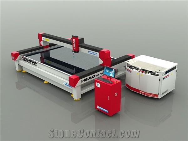 Ceramic Tile Granite Waterjet Cutting Machine from China