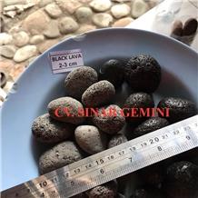 Black Lava Stone Pebbles