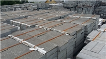 Romania Grey Andesite Slabs & Tiles