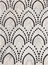 Marble Mosaic Pattern Waterjet