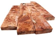 Yozgat Red Travertine Tiles