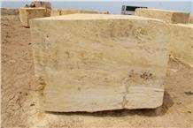 Yozgat Yellow Travertine Quarry Blocks