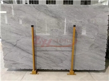 Metalic Grey Light Grey Color Marble Slabs