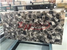 Smoke Crystal Tea Crystal Quartzite Tile
