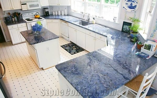 Bahia Polished Granite Kitchen Worktops