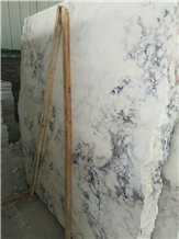 Marble Fusion Veins Slab Marble Violet White Slabs for Floor