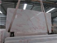 Rhino Pink Marble Slab Namibia Pink White Rhino Blocks in Stock