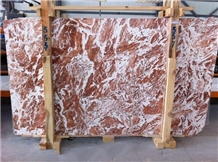 Tiger Red Marble Slabs & Tiles, Turkey Red Marble