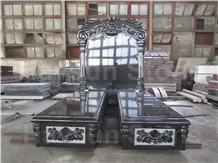 Hot Jewish/Hebrew Style Double Monument/Tombstones