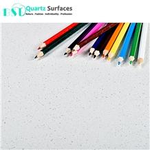 Free Samples Ocean Foam White Quartz Engineered Stone