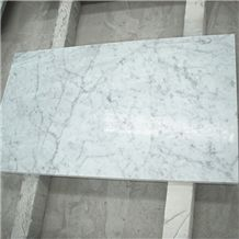 Italian Bianco Carrara Venato Marble Slabs White Marble with Grey Vein