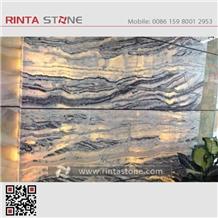 Alabaster White Jade Zebra China Wooden Wood Timber Vein Onyx Stone