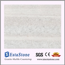 Chinese Crystal White Marble Tile(Own Factory)