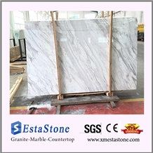 Hot Sales Polished Natural White Volakas Marble Slabs for Floor Tiles