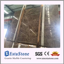 Spain Polished Dark Emperador Marble Slabs