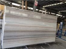 Crystal White Wood / High Quality Marble Tiles & Slabs,Floor & Wall