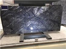 Polished Blue Quartzite Van Gogh Blue Quartzite Tiles&Slabs Flooring