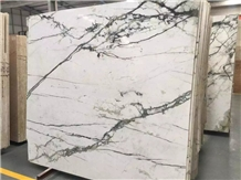 Polished Marble Clivia White Marble Tiles&Slabs Flooring&Walling