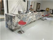 Fantasy Brown Marble for Reception Desk