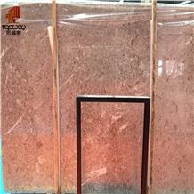Grey Rose Marble Slab Rose Grey with Polished Floor Tiles Covering