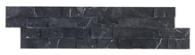 Ledger Panel Black Marble Split Face Mosaic