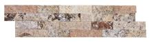 Ledger Panel Scabos Travertine Split Face Mosaic