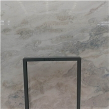 Popular White Stone Namib Fantasy White Marble Slabs