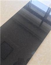 China Natural Impala Black Granite Flooring Tiles