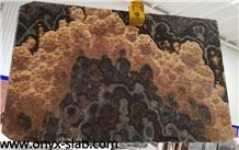Royal Black Onyx Slabs, Mexico Black Onyx