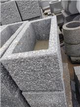 G603 Granite Stone Troughs, Granites Planters,Granite Water Pots
