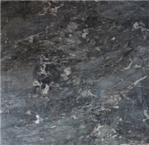 Vietnam High Quality Dark Grey Polished Marble Slabs & Tiles